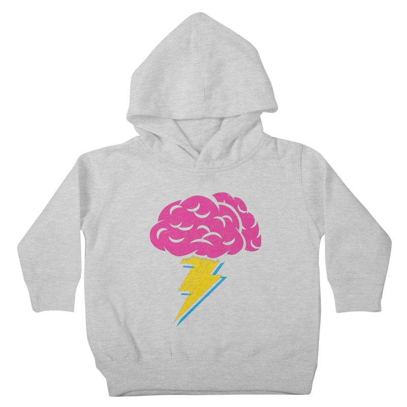 Brainstorm Kids Toddler Pullover Hoody by Rocket Artist Shop
