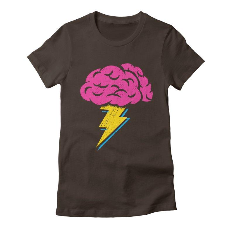 Brainstorm Women's Fitted T-Shirt by Rocket Artist Shop