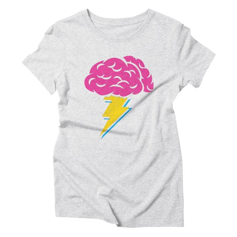 Brainstorm Women's Triblend T-shirt by Rocket Artist Shop