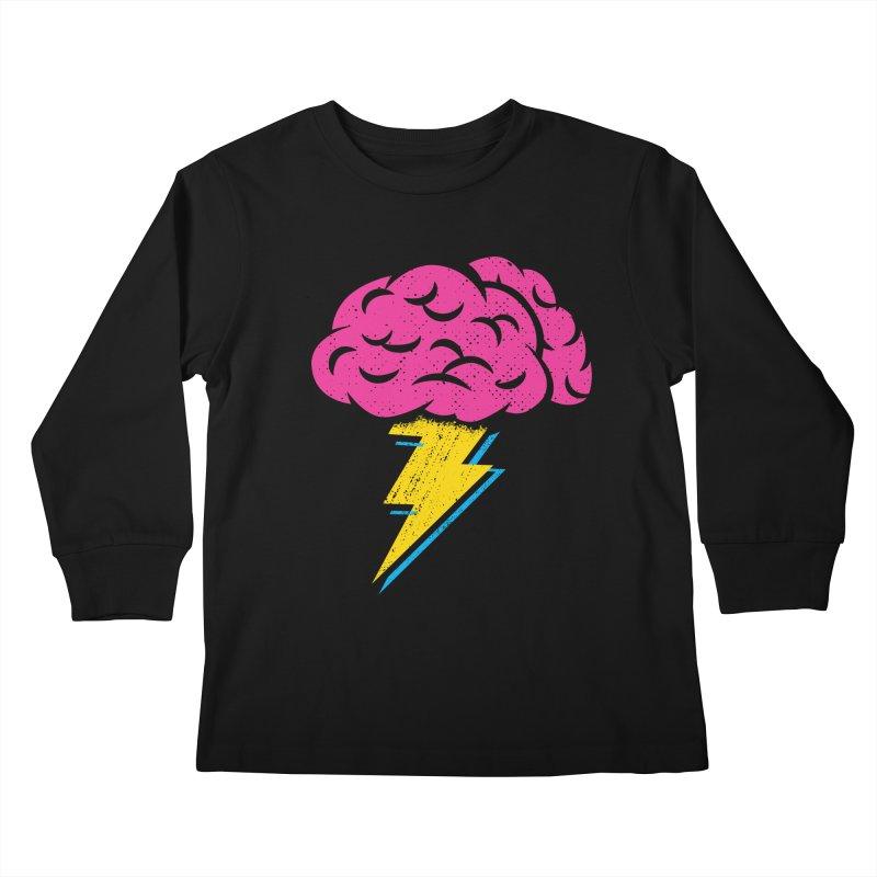 Brainstorm Kids Longsleeve T-Shirt by Rocket Artist Shop