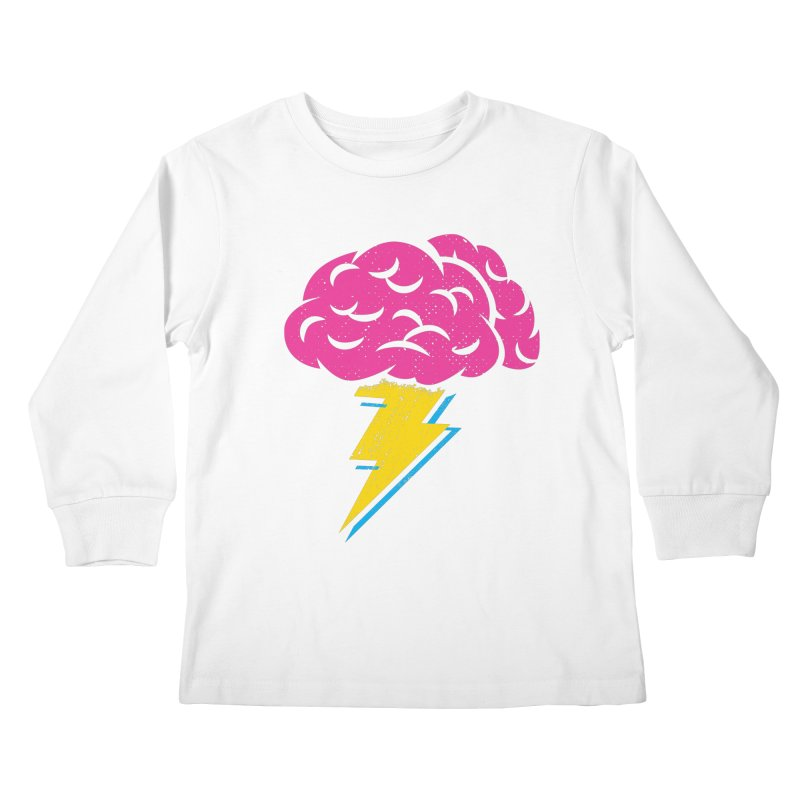 Brainstorm Kids Longsleeve T-Shirt by Rocket Artist Shop