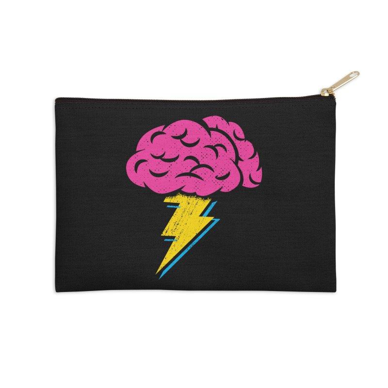 Brainstorm Accessories Zip Pouch by Rocket Artist Shop