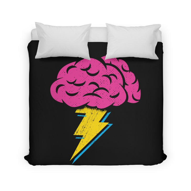 Brainstorm Home Duvet by Rocket Artist Shop