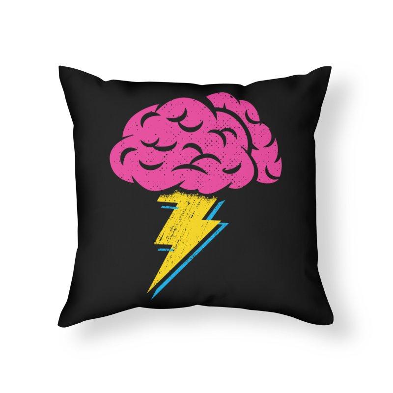 Brainstorm Home Throw Pillow by Rocket Artist Shop
