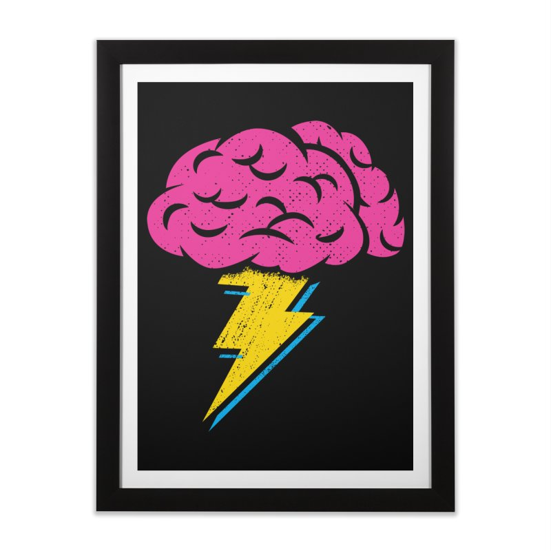 Brainstorm Home Framed Fine Art Print by Rocket Artist Shop