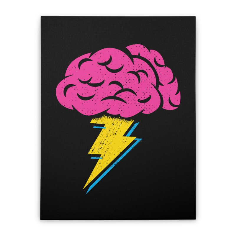 Brainstorm Home Stretched Canvas by Rocket Artist Shop