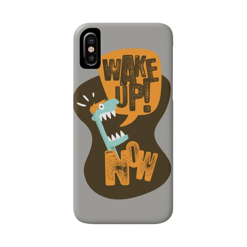 Wake up! Accessories Phone Case by Rocket Artist Shop