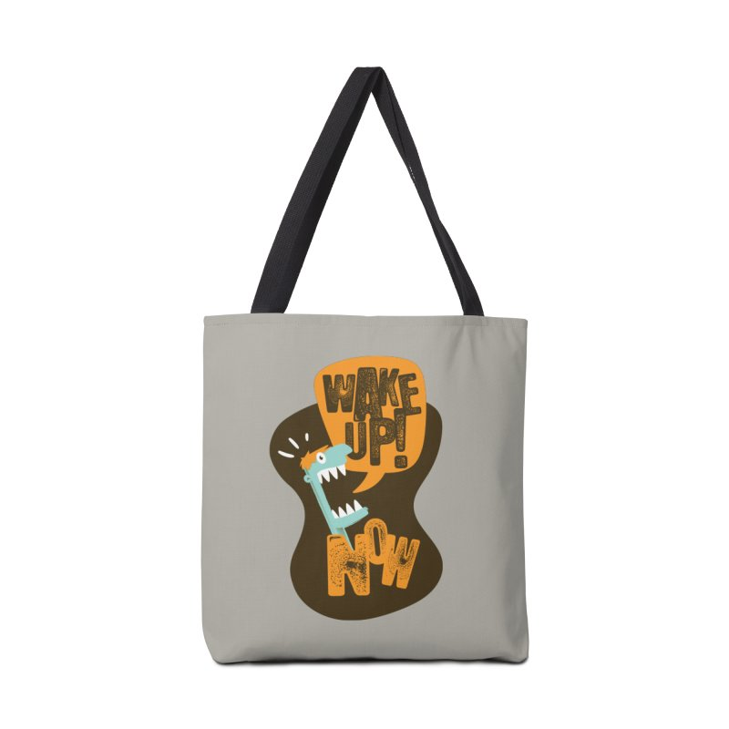 Wake up! Accessories Bag by Rocket Artist Shop