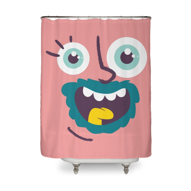 Ready to live! Home Shower Curtain by Rocket Artist Shop