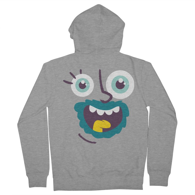Ready to live! Men's French Terry Zip-Up Hoody by Rocket Artist Shop