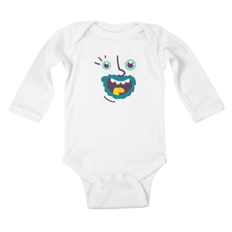Ready to live! Kids Baby Longsleeve Bodysuit by Rocket Artist Shop
