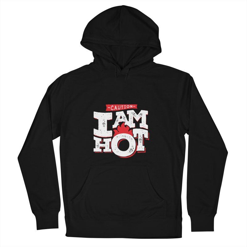 CAUTION Women's French Terry Pullover Hoody by Rocket Artist Shop