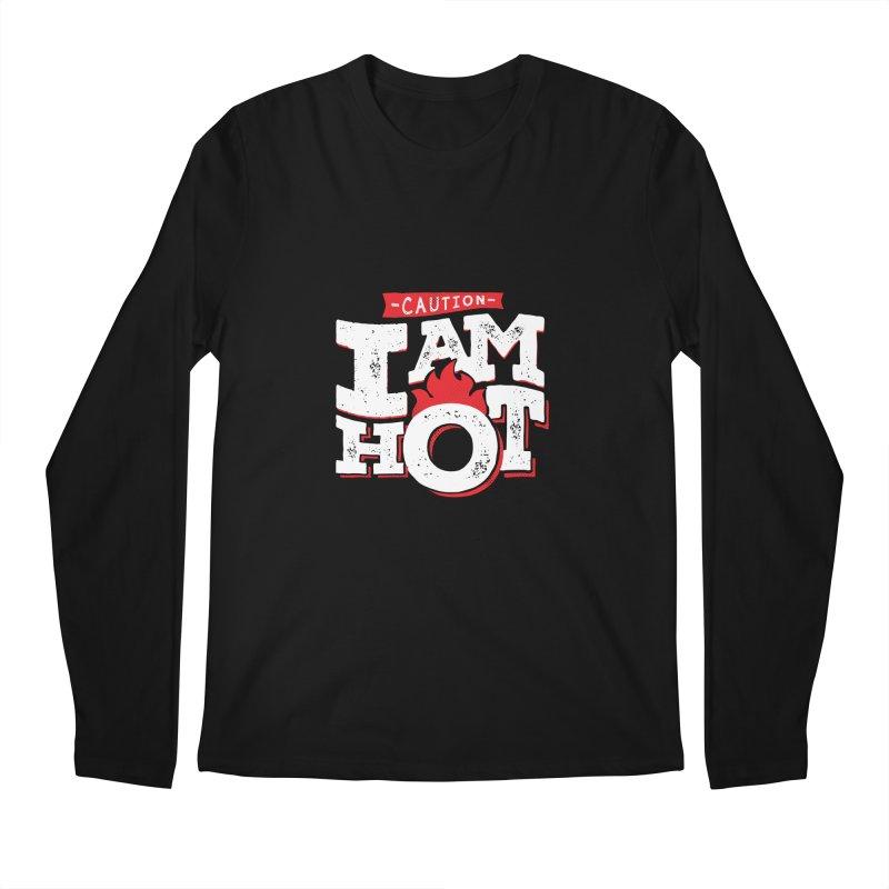 CAUTION Men's Longsleeve T-Shirt by Rocket Artist Shop