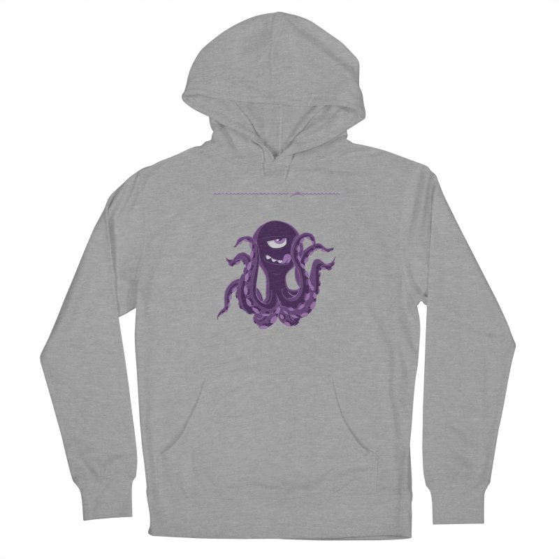 Deep Purple Women's Pullover Hoody by Rocket Artist Shop