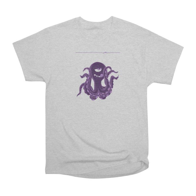 Deep Purple Women's Classic Unisex T-Shirt by Rocket Artist Shop