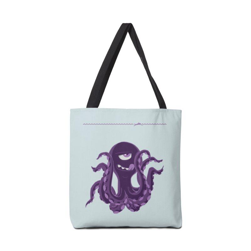 Deep Purple Accessories Bag by Rocket Artist Shop