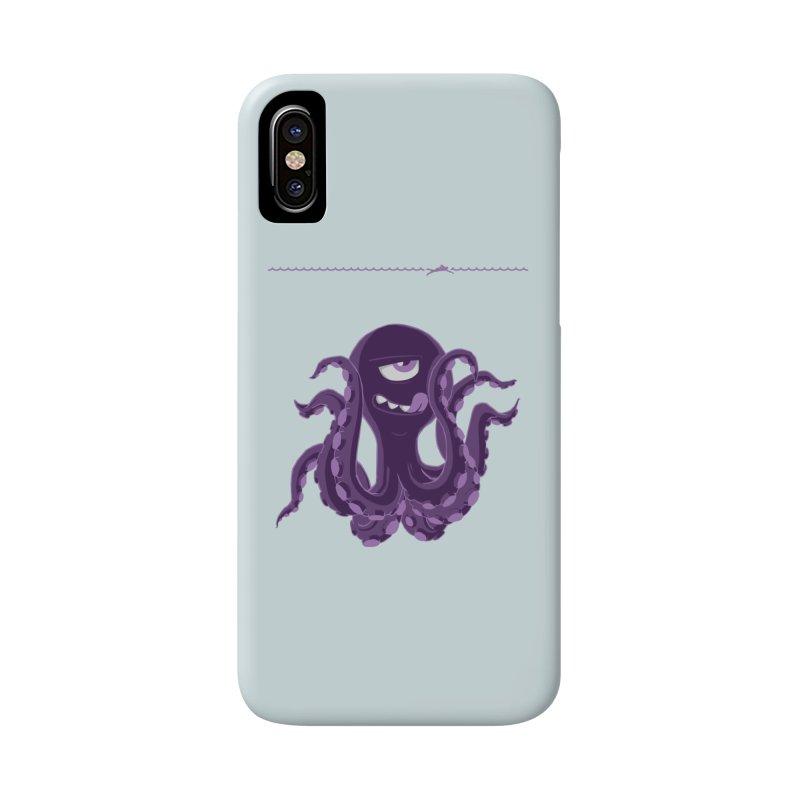 Deep Purple Accessories Phone Case by Rocket Artist Shop