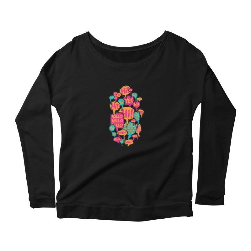 Automatic Conversation Women's Longsleeve T-Shirt by Rocket Artist Shop