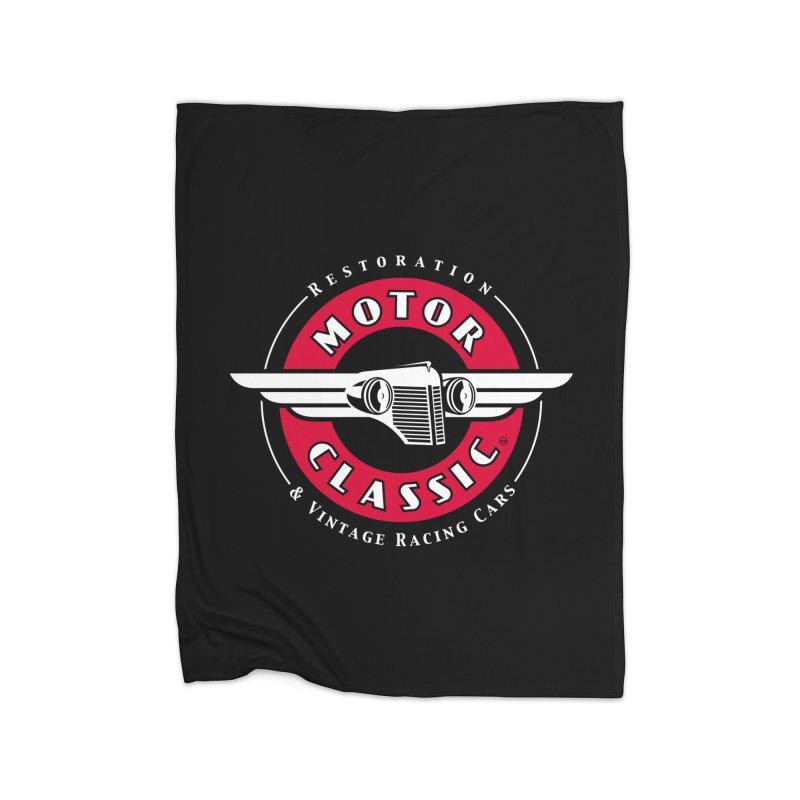 Motor Classic Home Fleece Blanket by Rocket Artist Shop
