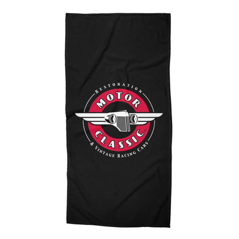 Motor Classic Accessories Beach Towel by Rocket Artist Shop