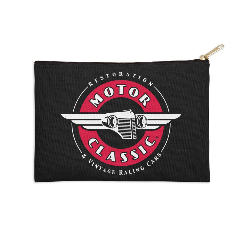 Motor Classic Accessories Zip Pouch by Rocket Artist Shop