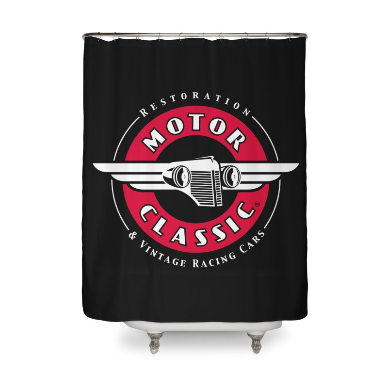 Motor Classic Home Shower Curtain by Rocket Artist Shop