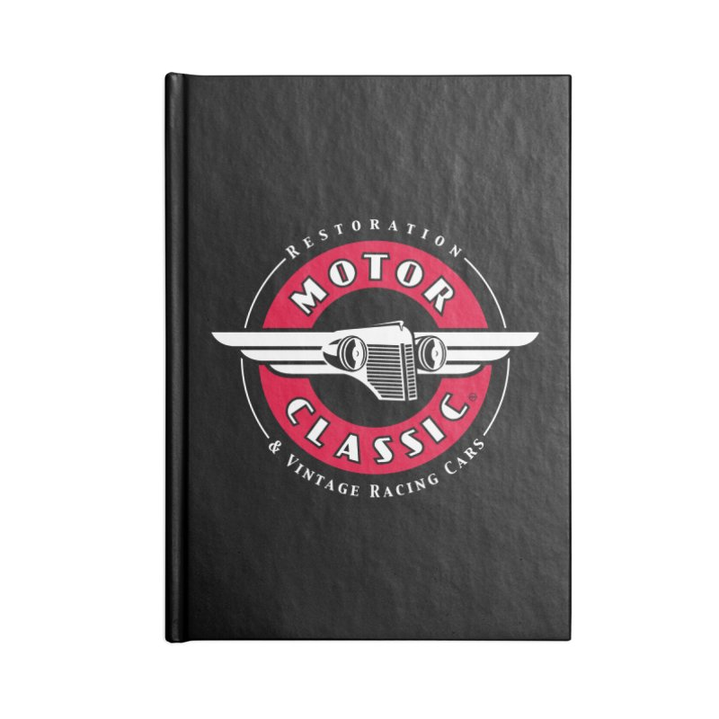 Motor Classic Accessories Blank Journal Notebook by Rocket Artist Shop