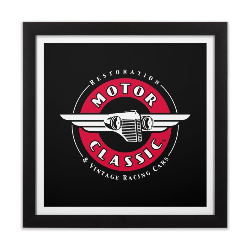 Motor Classic Home Framed Fine Art Print by Rocket Artist Shop