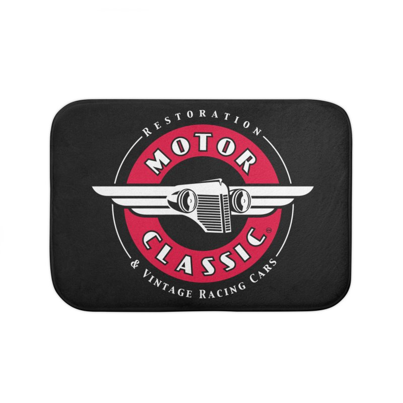 Motor Classic Home Bath Mat by Rocket Artist Shop