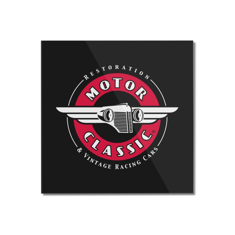 Motor Classic Home Mounted Acrylic Print by Rocket Artist Shop