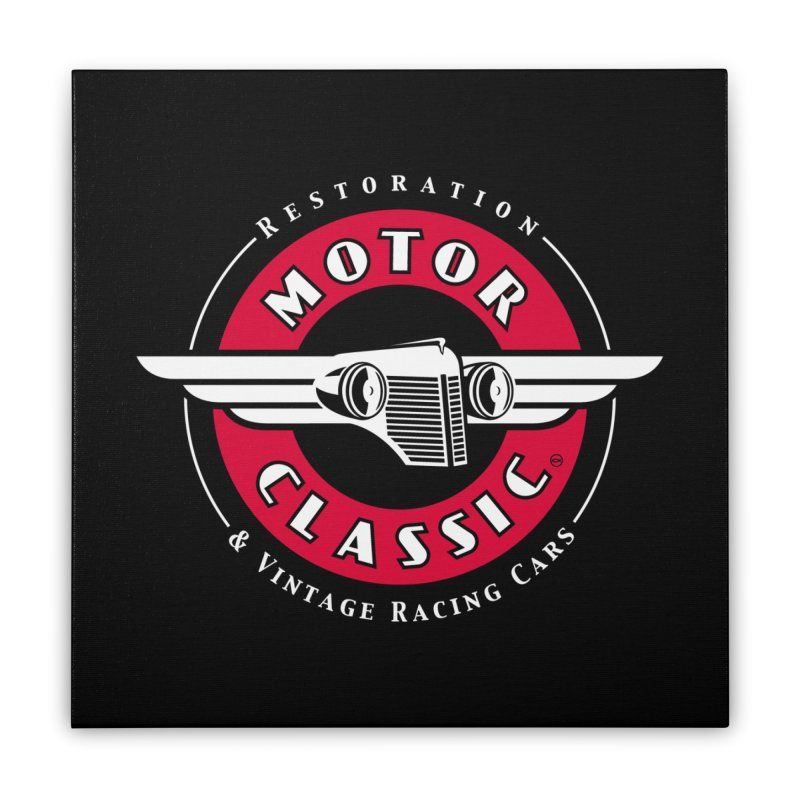 Motor Classic Home Stretched Canvas by Rocket Artist Shop