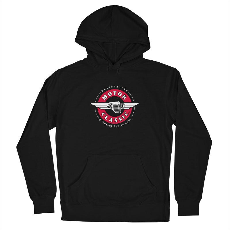 Motor Classic Men's French Terry Pullover Hoody by Rocket Artist Shop