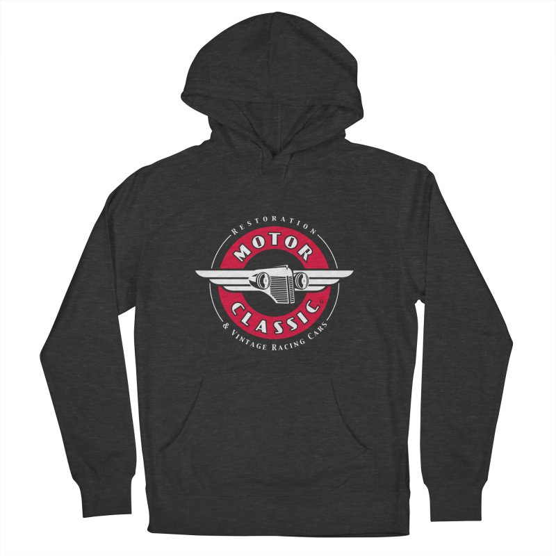 Motor Classic Women's French Terry Pullover Hoody by Rocket Artist Shop