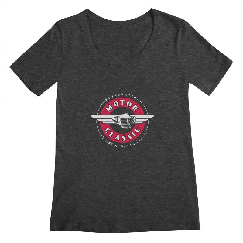 Motor Classic Women's Scoopneck by Rocket Artist Shop