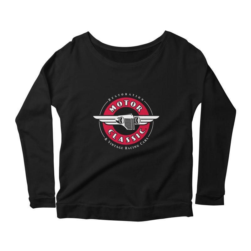 Motor Classic Women's Longsleeve Scoopneck  by Rocket Artist Shop