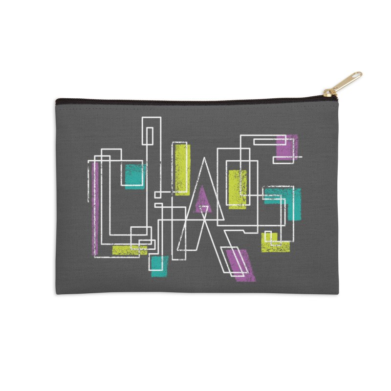 CHAOS Accessories Zip Pouch by Rocket Artist Shop