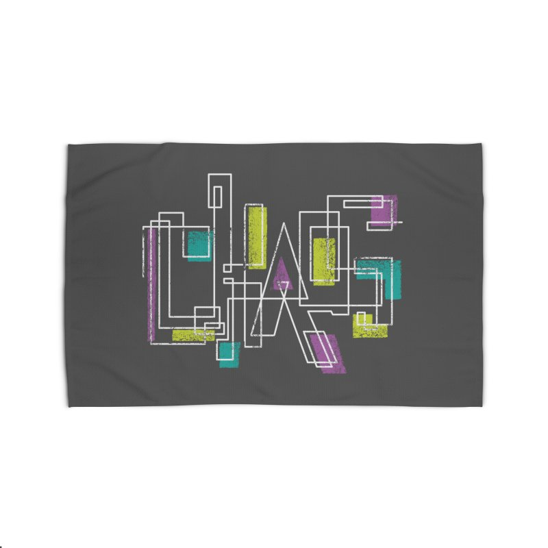 CHAOS Home Rug by Rocket Artist Shop