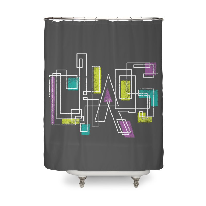 CHAOS Home Shower Curtain by Rocket Artist Shop