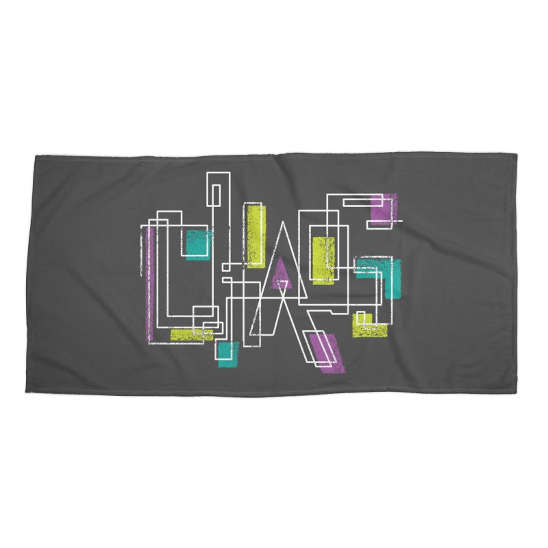 CHAOS Accessories Beach Towel by Rocket Artist Shop