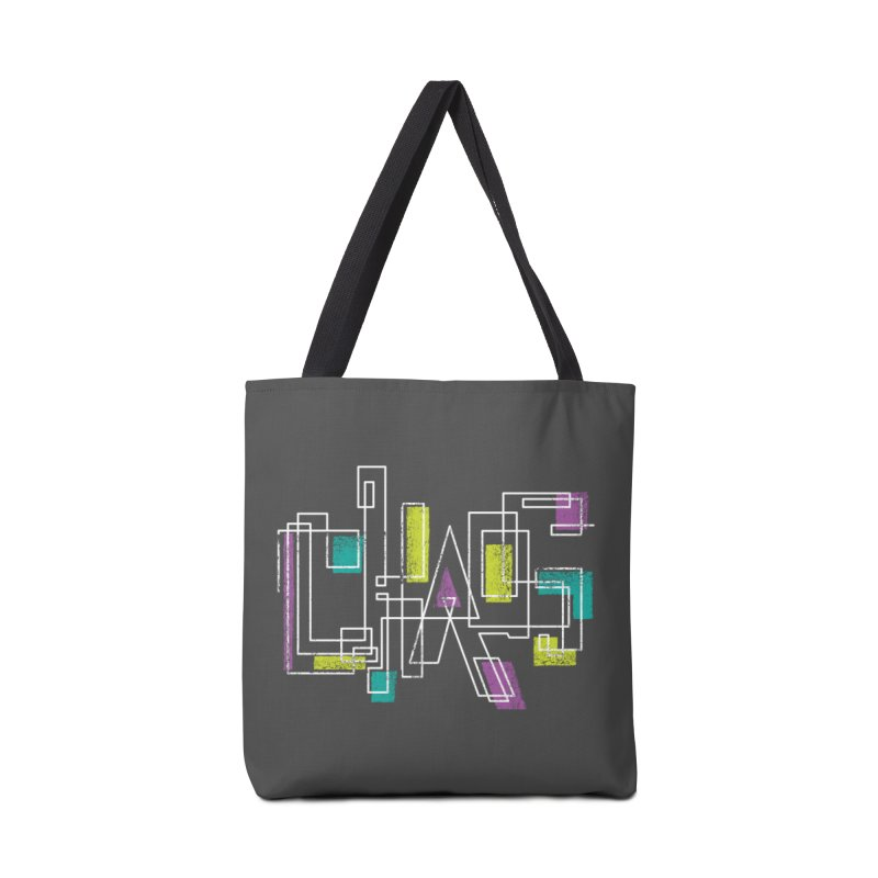 CHAOS Accessories Tote Bag Bag by Rocket Artist Shop