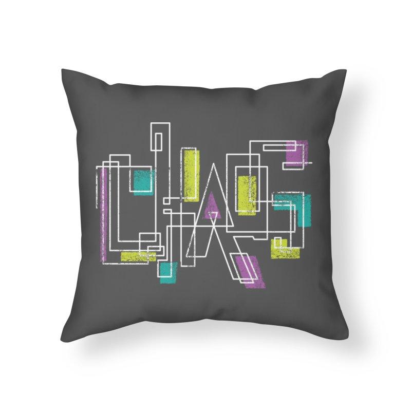 CHAOS Home Throw Pillow by Rocket Artist Shop