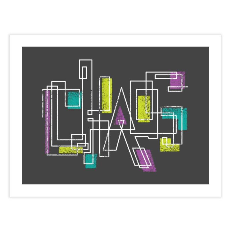 CHAOS Home Fine Art Print by Rocket Artist Shop