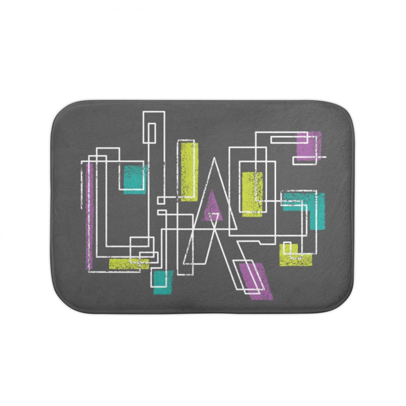 CHAOS Home Bath Mat by Rocket Artist Shop