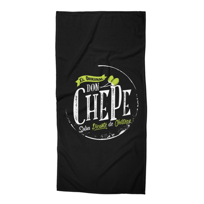Don Chepe Accessories Beach Towel by Rocket Artist Shop