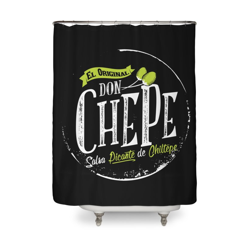 Don Chepe Home Shower Curtain by Rocket Artist Shop