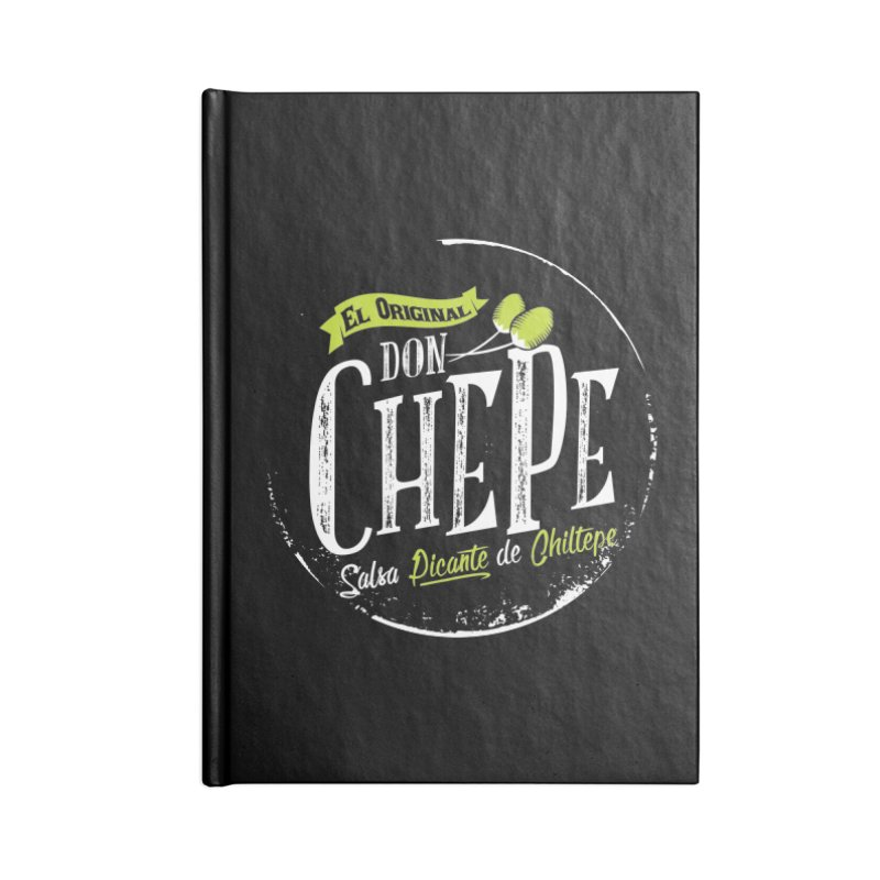 Don Chepe Accessories Lined Journal Notebook by Rocket Artist Shop