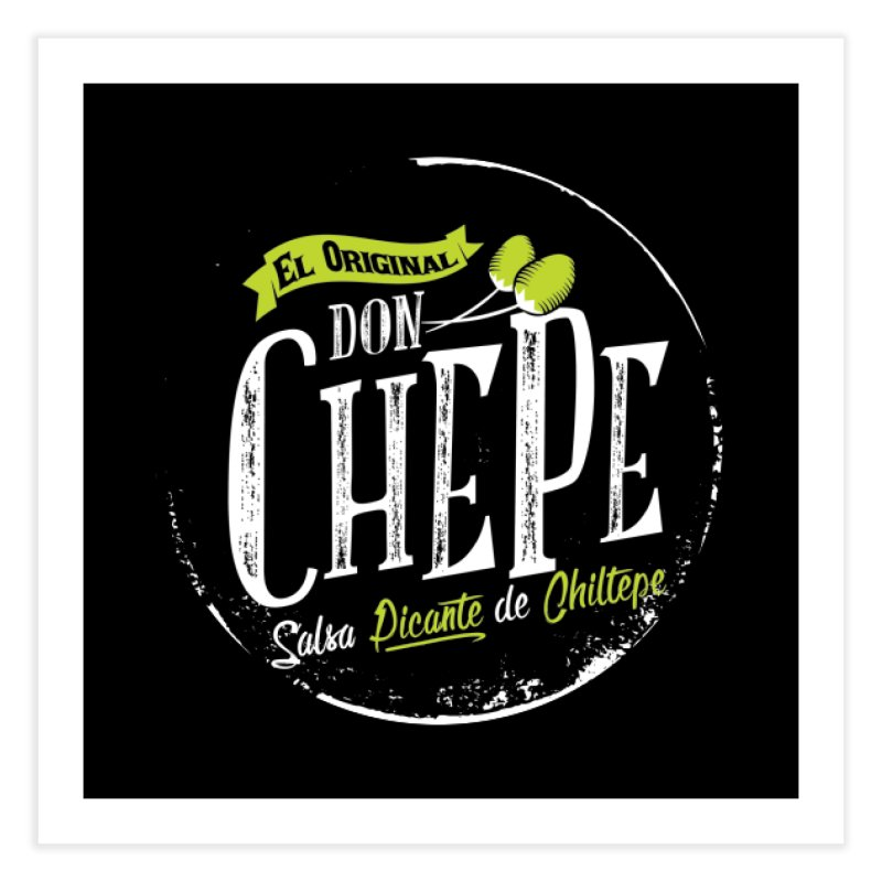 Don Chepe Home Fine Art Print by Rocket Artist Shop