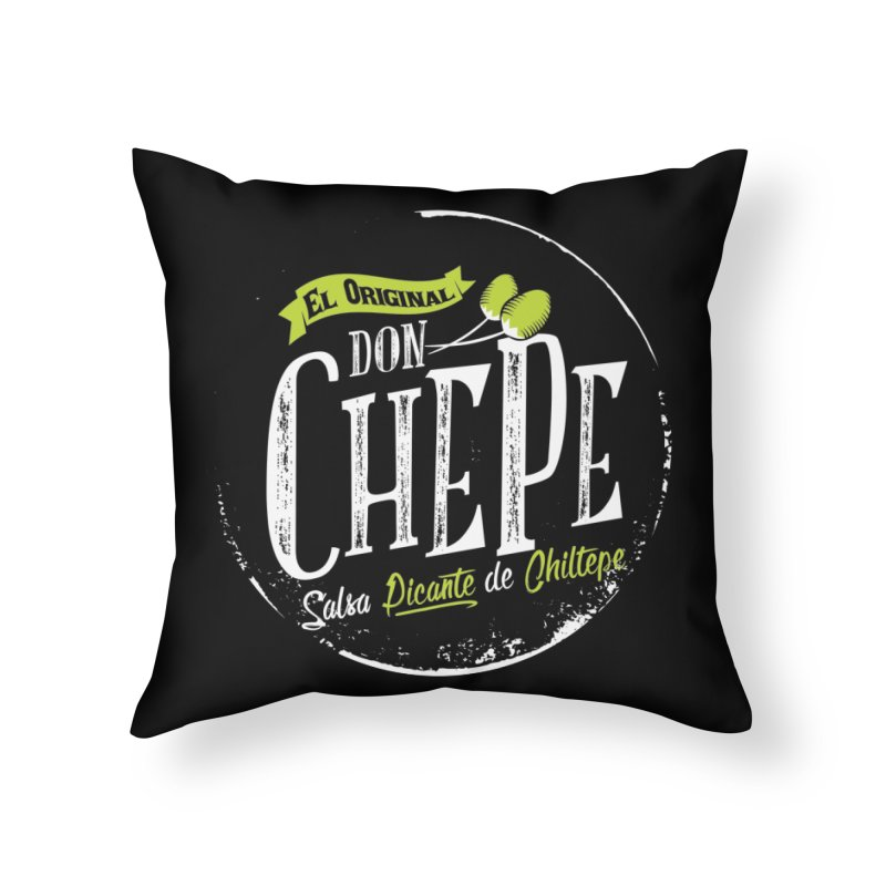 Don Chepe Home Throw Pillow by Rocket Artist Shop