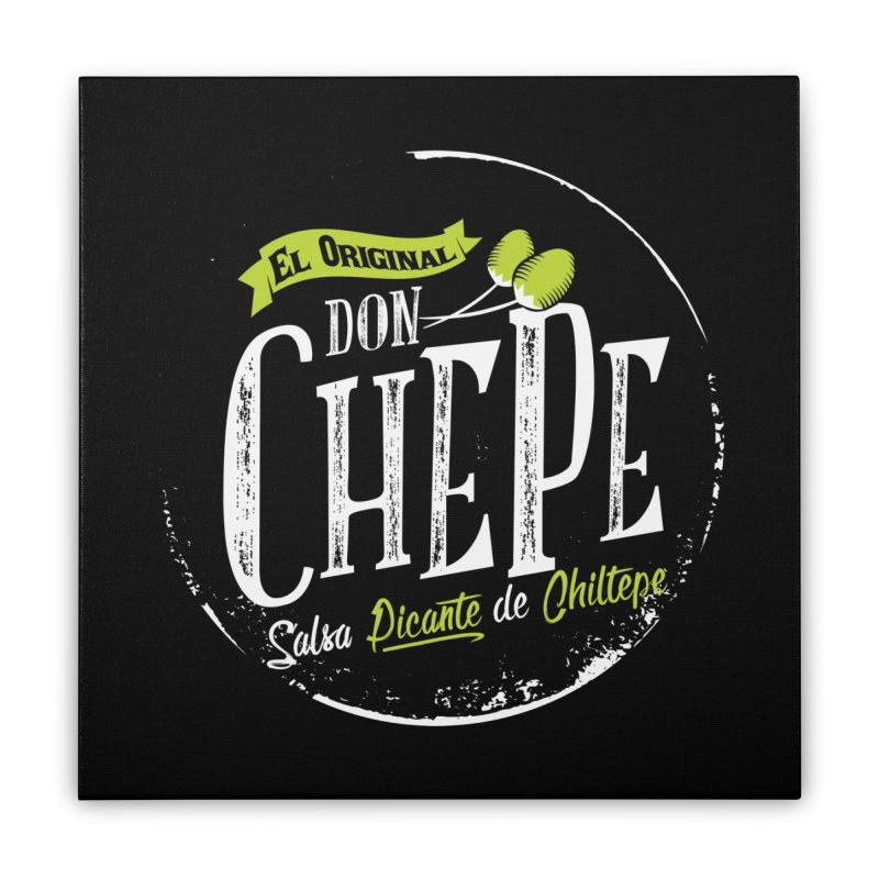 Don Chepe Home Stretched Canvas by Rocket Artist Shop