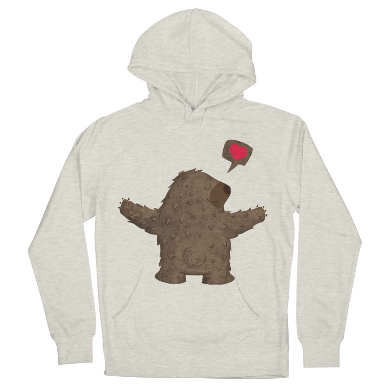 Big Hug Women's French Terry Pullover Hoody by Rocket Artist Shop